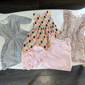 Girls 4/5 Dresses Lot of 4 EUC